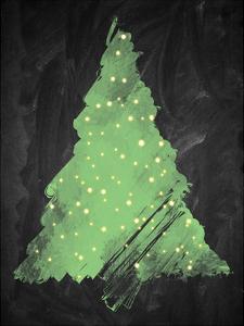 Chalkboard Tree 2 by Victoria Brown