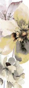 Gray Yellow Petals 1 by Victoria Brown