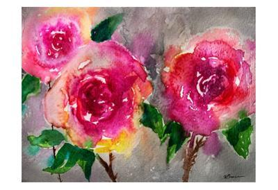 Pink Roses by Victoria Brown