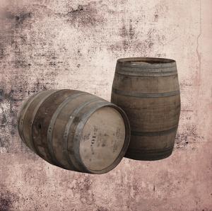 Wine Barrels 2 by Victoria Brown