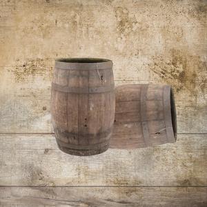 Wine Barrels by Victoria Brown