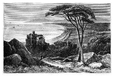 Victoria Castle, with Killiney-Bray Head in the Distance, Ireland, C1888--Giclee Print