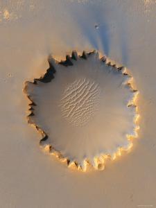 Victoria Crater at Meridiani Planum on Mars