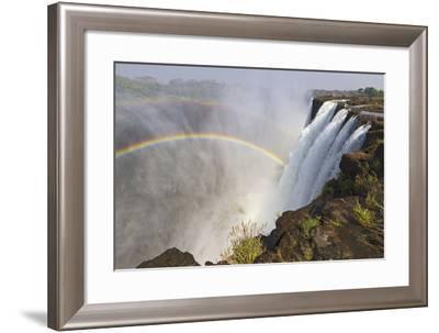 Victoria Falls, Zambia, Africa-Yvette Cardozo-Framed Photographic Print