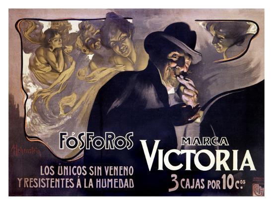Victoria Fosforos-Adolfo Hohenstein-Giclee Print