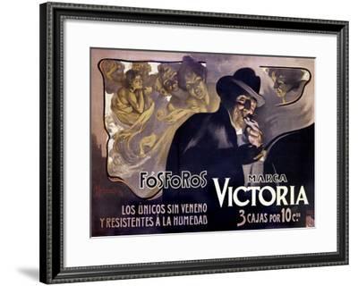 Victoria Fosforos-Adolfo Hohenstein-Framed Giclee Print