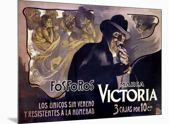 Victoria Fosforos-Adolfo Hohenstein-Mounted Giclee Print