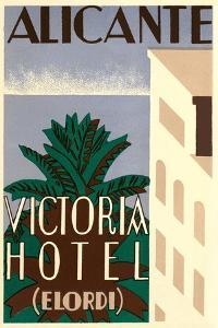 Victoria Hotel, Alicante, Spain