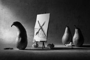 He Has a Painter's Block... by Victoria Ivanova