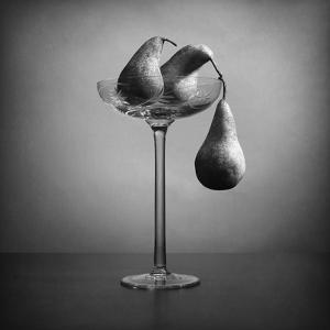 I Won't Let You Down! (The Second Part Od the Diptych With Hanging Pears) by Victoria Ivanova
