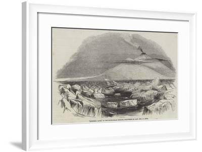 Victoria Land, in the South-Polar Regions, Discovered by Captain Sir J C Ross--Framed Giclee Print