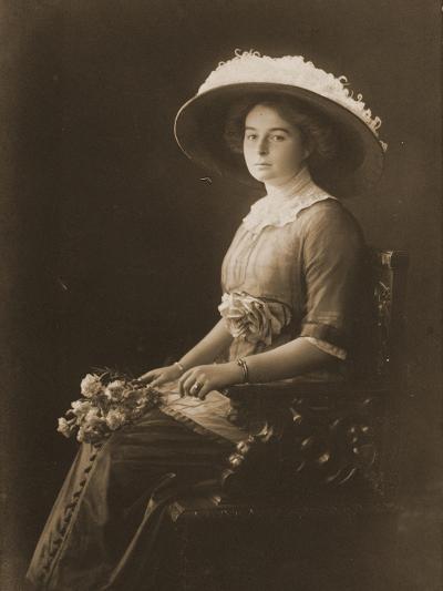 Victoria Margaret of Prussia, C.1910--Photographic Print