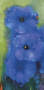 Blue Garden by Victoria Montesinos