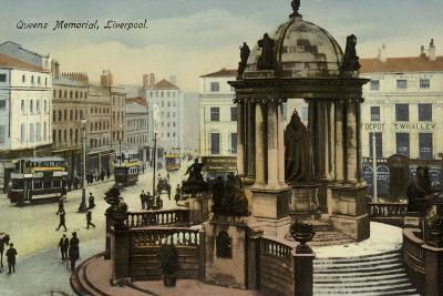 Victoria Monument, Liverpool--Photographic Print