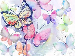 Butterfly Watercolor by Victoria Nelson