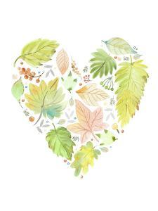 Leaf Heart by Victoria Nelson