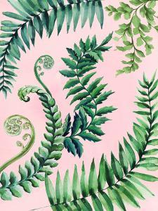 Leafy Fern Green by Victoria Nelson