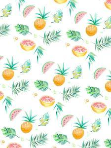 Tropical Pineapple by Victoria Nelson
