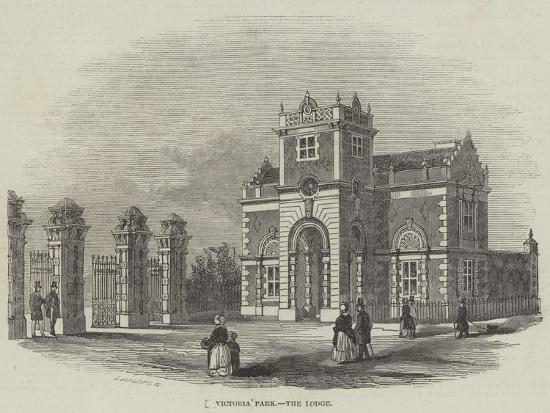 Victoria Park, the Lodge--Giclee Print