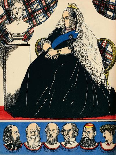Victoria, Queen of Great Britain and Ireland from 1837, (1932)-Rosalind Thornycroft-Giclee Print