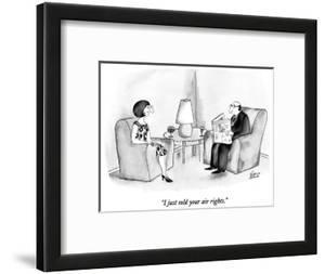 """""""I just sold your air rights."""" - New Yorker Cartoon by Victoria Roberts"""