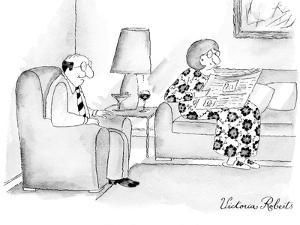 """""""I'm selling you on eBay."""" - New Yorker Cartoon by Victoria Roberts"""