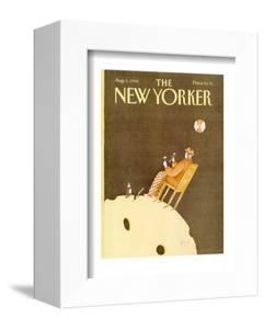 The New Yorker Cover - August 6, 1990 by Victoria Roberts