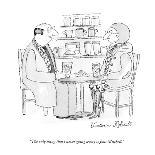 """""""I thought 'viola da gamba' and then, of course, I thought of you."""" - New Yorker Cartoon-Victoria Roberts-Premium Giclee Print"""