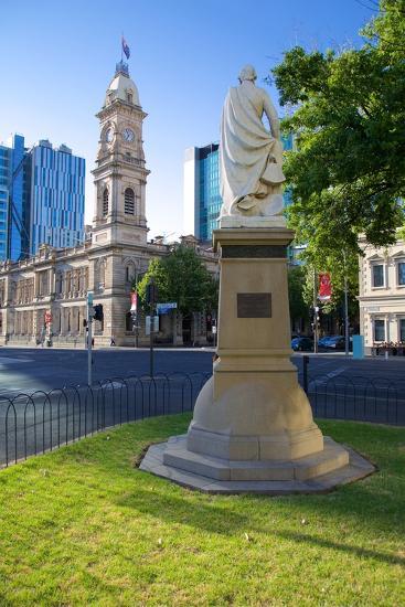 Victoria Square, Australia, Oceania Post Office, Adelaide, South Australia, Oceania-Frank Fell-Photographic Print