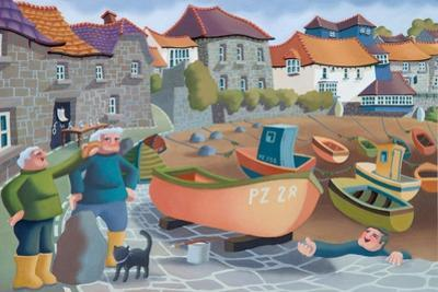 Cornish Fisherman's Lunch, 2001 by Victoria Webster