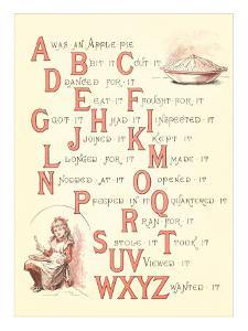 Victorian Alphabet Jingle