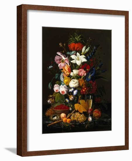 Victorian Bouquet-Severin Roesen-Framed Giclee Print