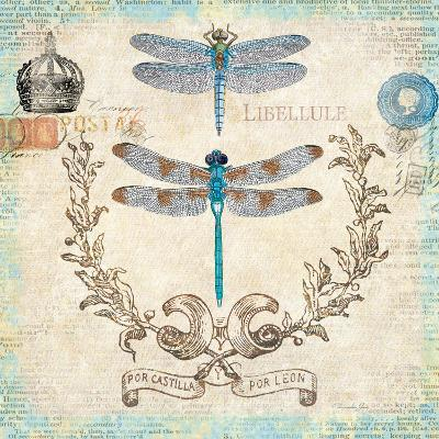 Victorian Dragonflies-Christopher James-Premium Giclee Print