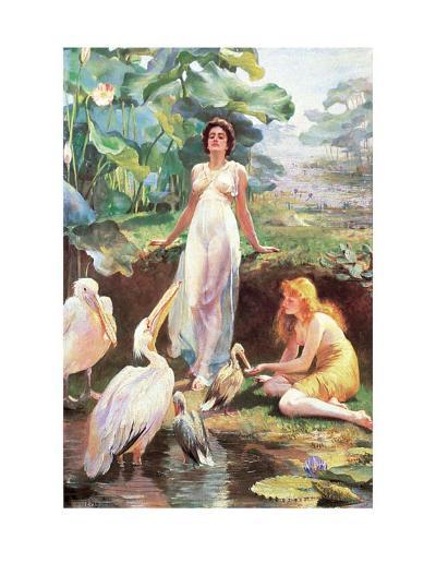 Victorian Fantasy-Arthur Drummond-Art Print