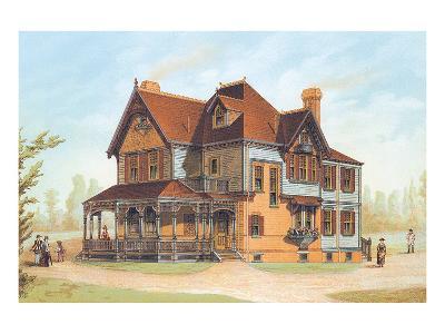 Victorian House, No. 13--Art Print
