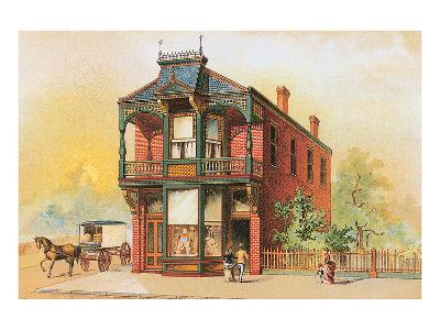 Victorian House, No. 16--Art Print