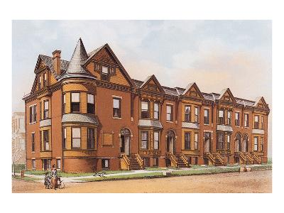 Victorian House, No. 17--Art Print