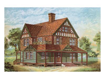 Victorian House, No. 18--Art Print