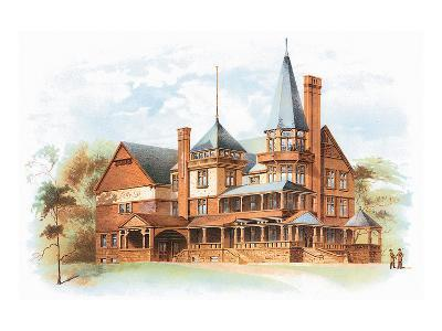 Victorian House, No. 19--Art Print
