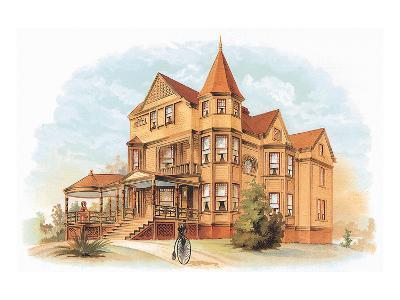 Victorian House, No. 20--Art Print