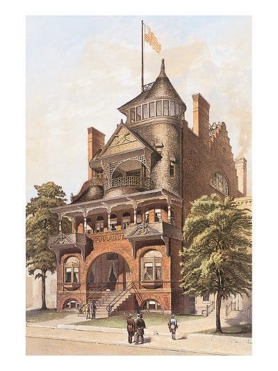 Victorian House, No. 4--Art Print