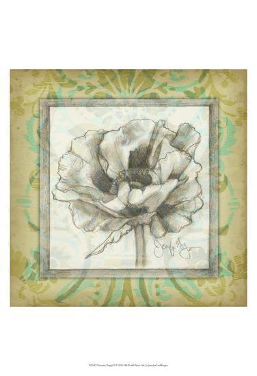 Victorian Poppy II-Jennifer Goldberger-Art Print