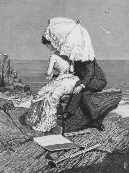 Victorian Romance, 1886-Percy Tarrant-Giclee Print