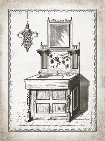 Victorian Sink II-Gwendolyn Babbitt-Art Print
