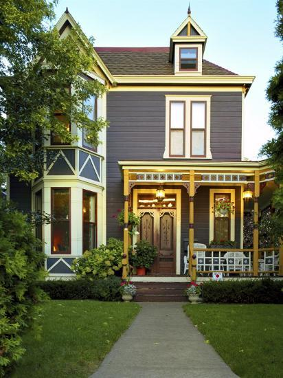Victorian Style Home--Photographic Print