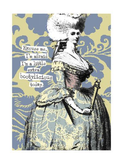 Victorian Woman with Coy Smile--Art Print