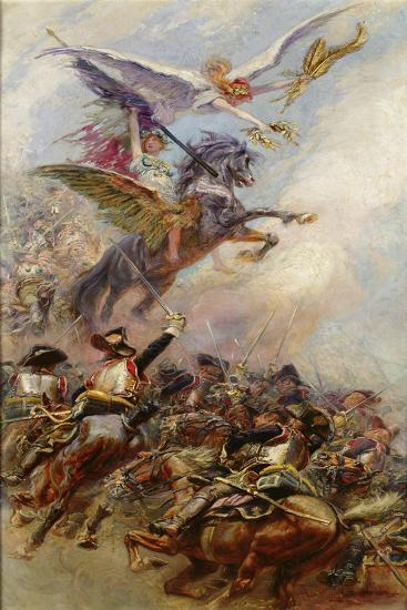 Victory, 1905-Jean-Baptiste Edouard Detaille-Giclee Print