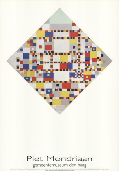 Victory Boogie Woogie-Piet Mondrian-Collectable Print