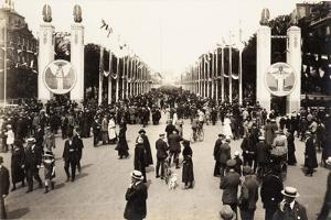 Victory Celebrations on the Champs Élysées, Paris, 14 July 1919