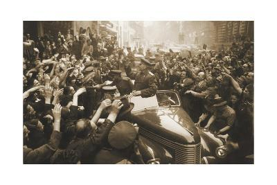 Victory Day Parade, Prague, Czechoslovakia, World War II, 1945-Anatoly Yegorov-Giclee Print